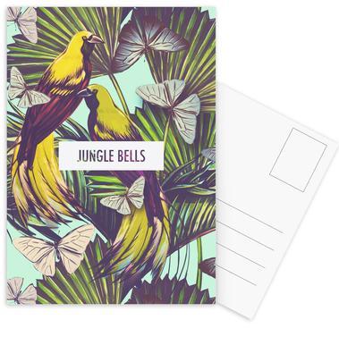 Jungle Bells! ansichtkaartenset