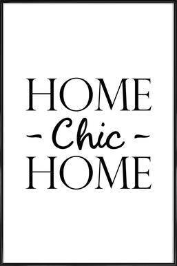 Elegant Home Chic Home   JUNIQE   Affiche Sous Cadre Standard ...