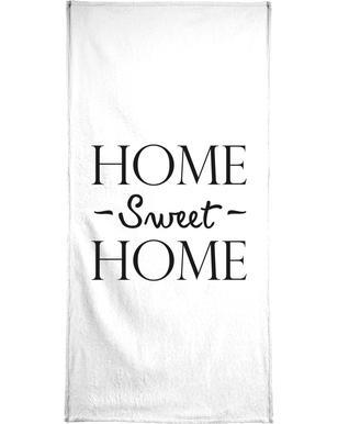 Home Sweet Home Serviette de bain