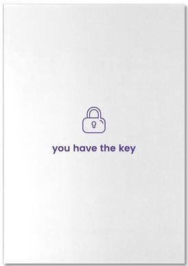Unlock Me Bloc-notes