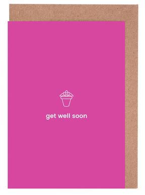 Feel Better Set de cartes de vœux