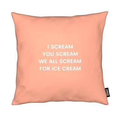 I Scream for Ice Cream Kissen