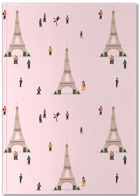 Paris Pattern Notitieboekje