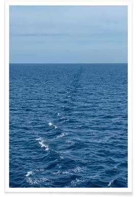 Schiffswellen Poster