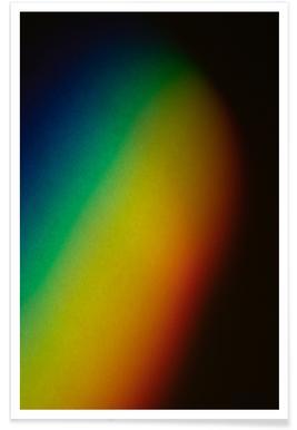 Regenbogenfarben Poster