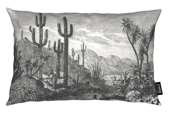 Cacti in Mountains Cushion