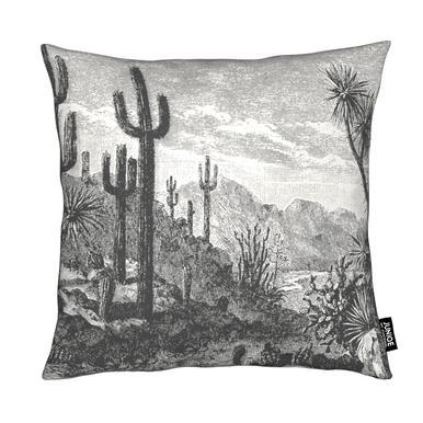 Cacti in Mountains Kissen
