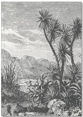 Cacti in Mountains Notizbuch