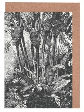 Palms in Water Greeting Card Set