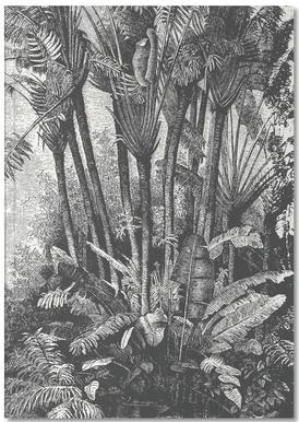 Palms in Water Notizbuch