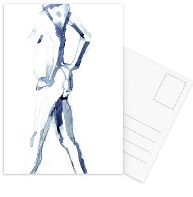 NUDE 9 Set de cartes postales