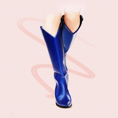 Boots toile
