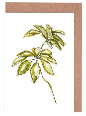 Leaves 01 Greeting Card Set