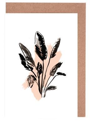 Plants & Colours 2 Greeting Card Set