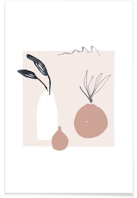 Plants in Vases 01 Poster