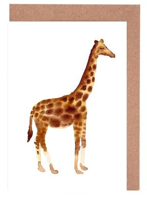Giraffe Greeting Card Set