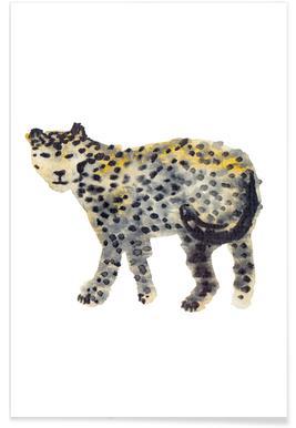 Leopard I Poster