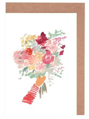 Bouquet wenskaartenset