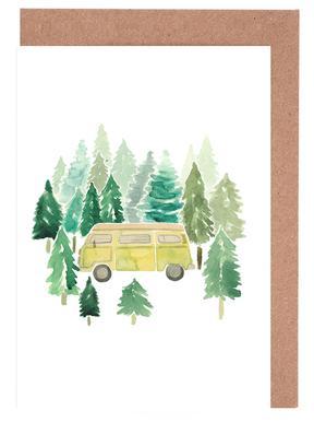 Adventure Van Woods Greeting Card Set