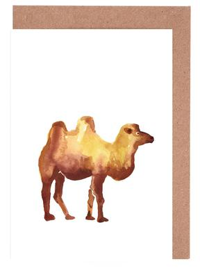 Camel Greeting Card Set