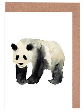 Panda Greeting Card Set