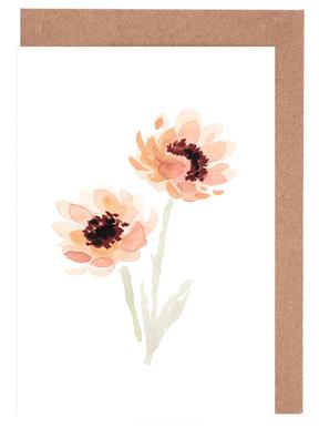 Paeonia Greeting Card Set