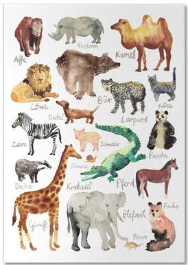 The Animal Kingdom Notepad