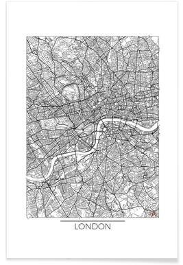 London Minimal   Hubert Roguski   Premium Poster ...