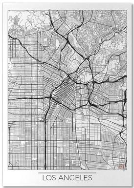 Los Angeles Minimal Notepad