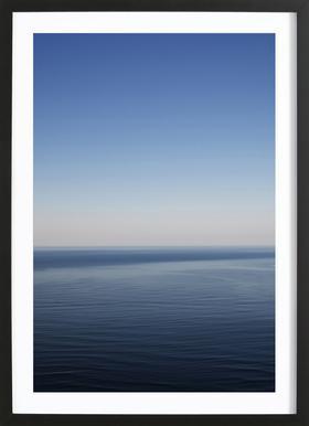 The Open Ocean 1 -Bild mit Holzrahmen