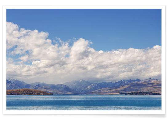 Lake Tekapo Affiche