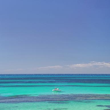 Rottnest Island Basin -Acrylglasbild