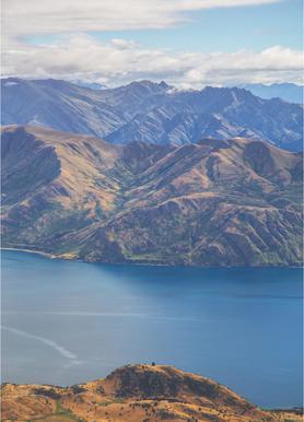 Roys Peak Lookout -Leinwandbild