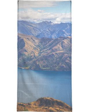 Roys Peak Lookout handdoek