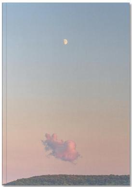Forest Cloud Moon Notizbuch