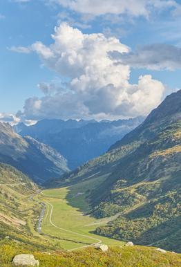 Swiss Valley Alu-Dibond Druck