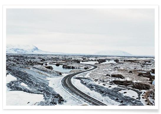 Near Mývatn Poster