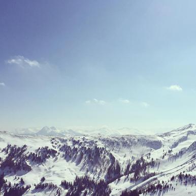 The Alps 2 -Acrylglasbild