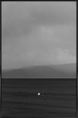 Solitude -Bild mit Kunststoffrahmen