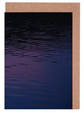 Abstract Waves wenskaartenset