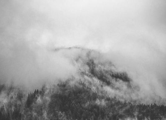Moody Clouds 1 -Leinwandbild