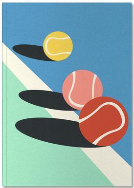 3 Tennis Balls Notitieboekje