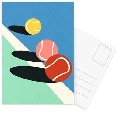 3 Tennis Balls Ansichtkaartenset