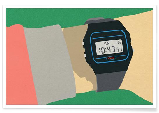90s Watch Plakat