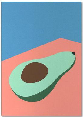 Avocado on the Table -Notizblock