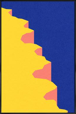 Big Sur V -Bild mit Kunststoffrahmen