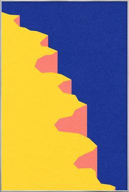 Big Sur V Poster im Alurahmen