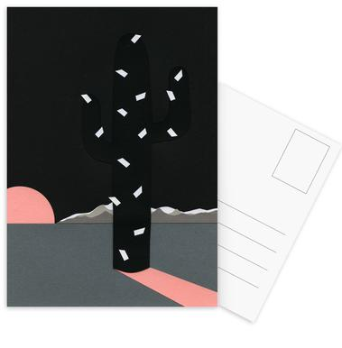 Black Sierra Nevada Postcard Set