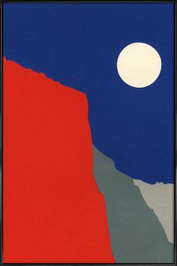 El Capitan Poster in kunststof lijst
