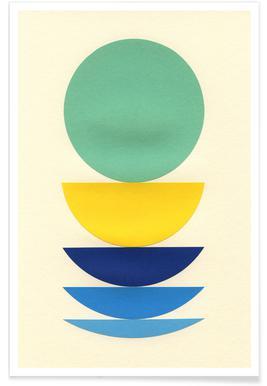 Five Circles Plakat